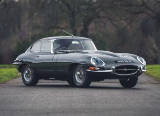 Jaguar E-Type at Silverstone Auctions Race Retro Sale