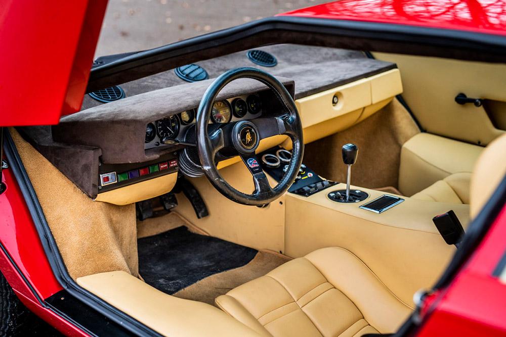 Lamborghini Miura SV Countach LP 400 Periscopio RM Sothebys
