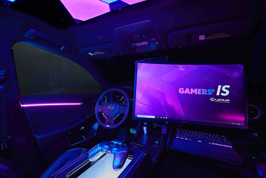 Lexus Gamers' IS Twitch
