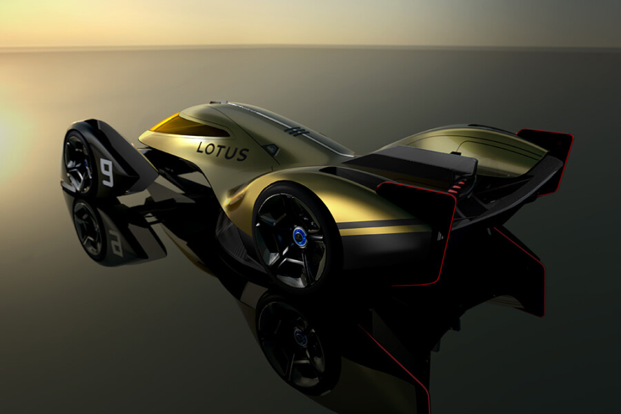 The Lotus E-R9 next-generation EV endurance racer