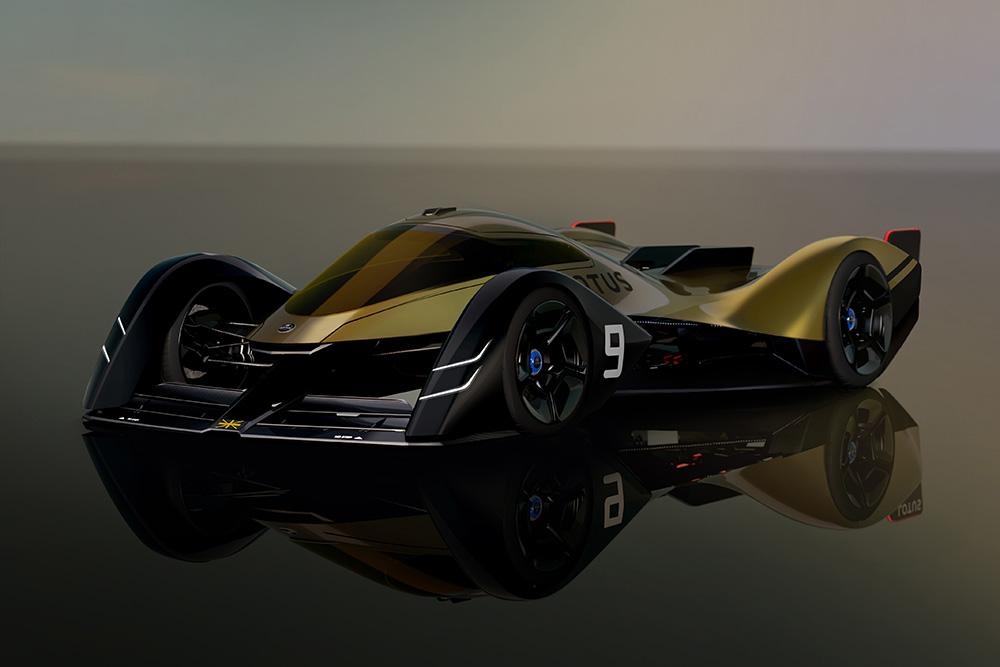 The Lotus E-R9 next-generation EV endurance racer