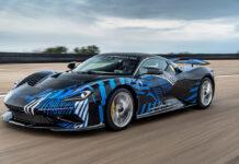 Nick Heidfeld Tests Pininfarina Battista Hyper GT Prototype