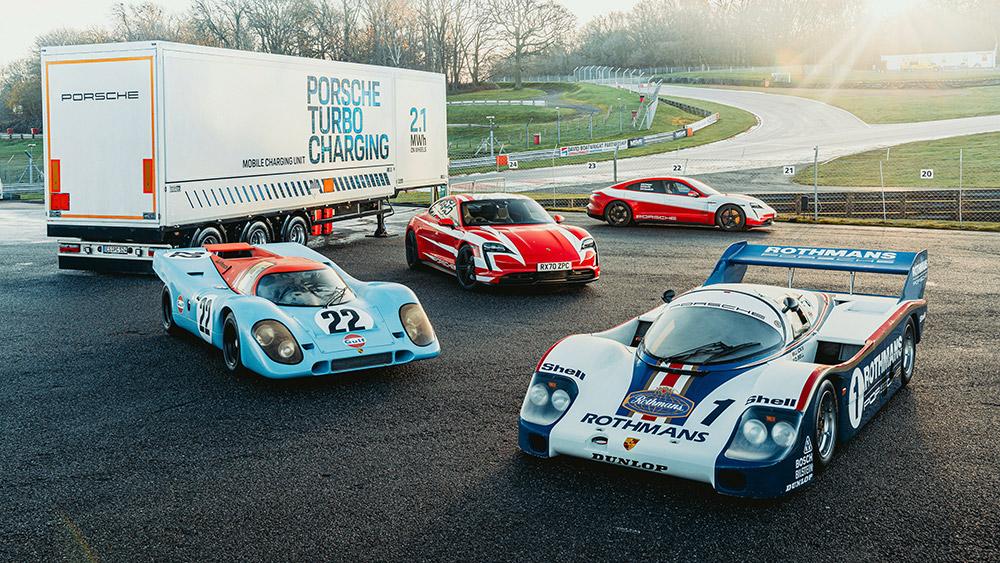 Porsche Taycan Sets British Endurance Records