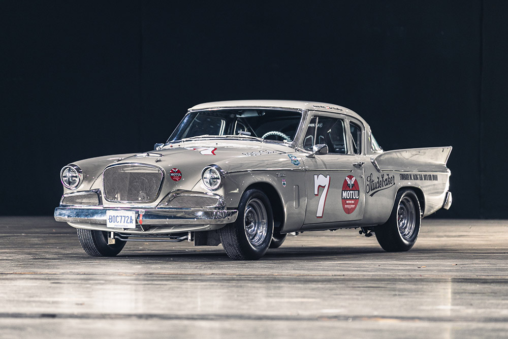 Silverstone Auctions Race Retro 1959 Studebaker Silver Hawk Racer