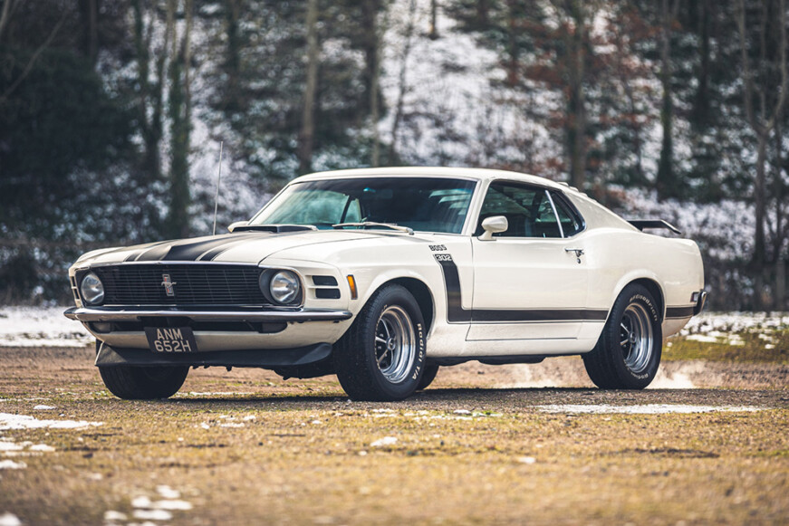 Silverstone Auctions Race Retro 1970 Ford Mustang Boss 302