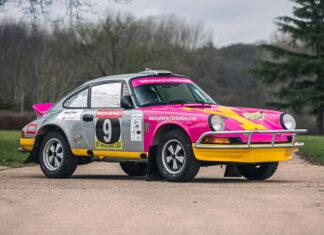 Tuthill 1975 Porsche 911 Carrera MFI Safari Rally Car Silverstone Auctions