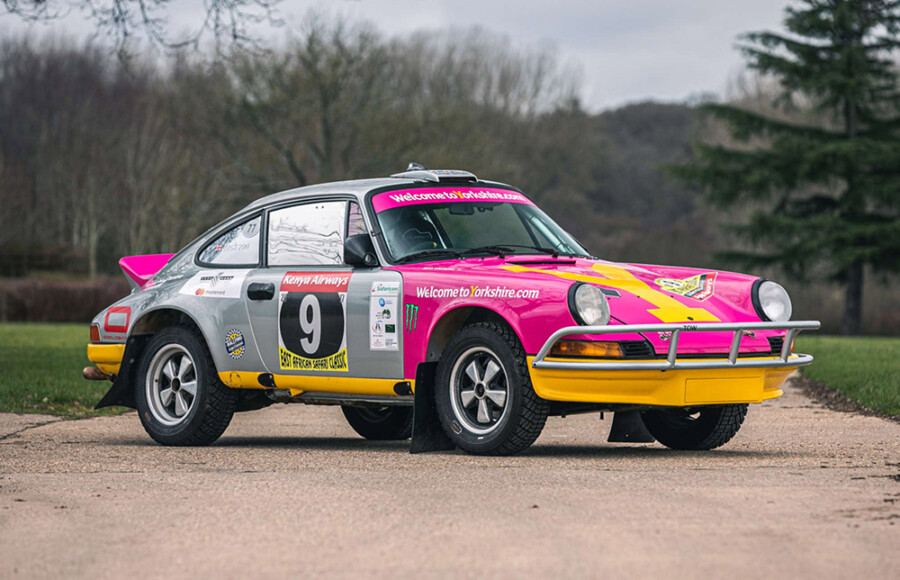 Tuthill 1975 Porsche 911 Carrera MFI Safari Rally Car Silverstone Auctions