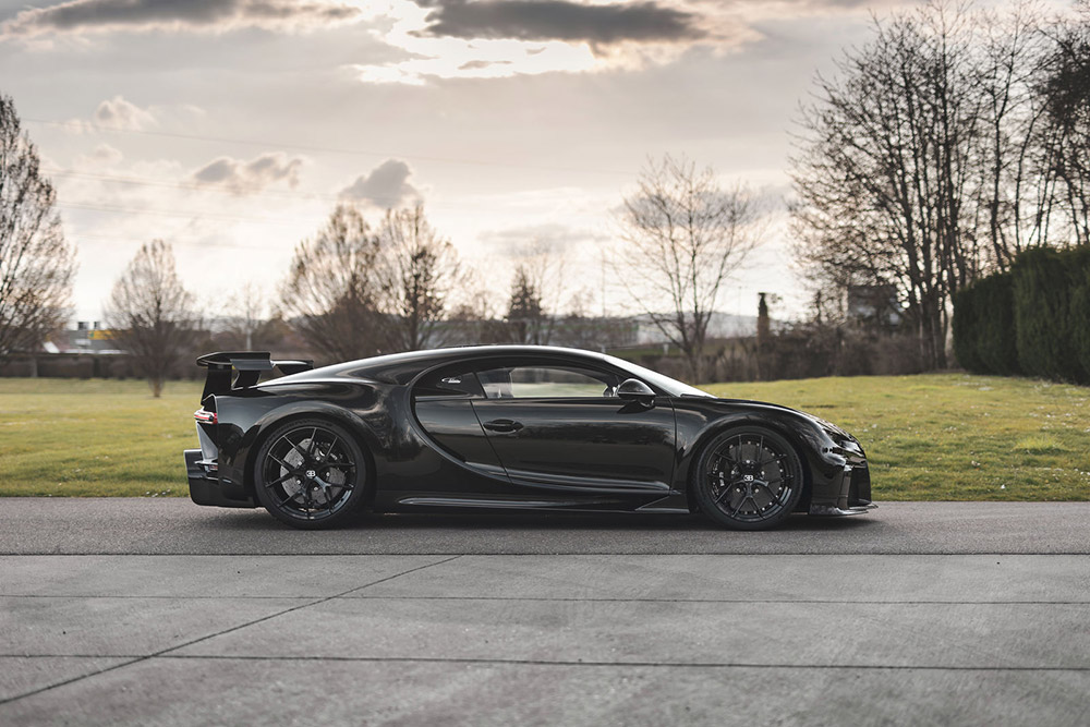 300th Bugatti Chiron Leaves Atelier Molsheim France
