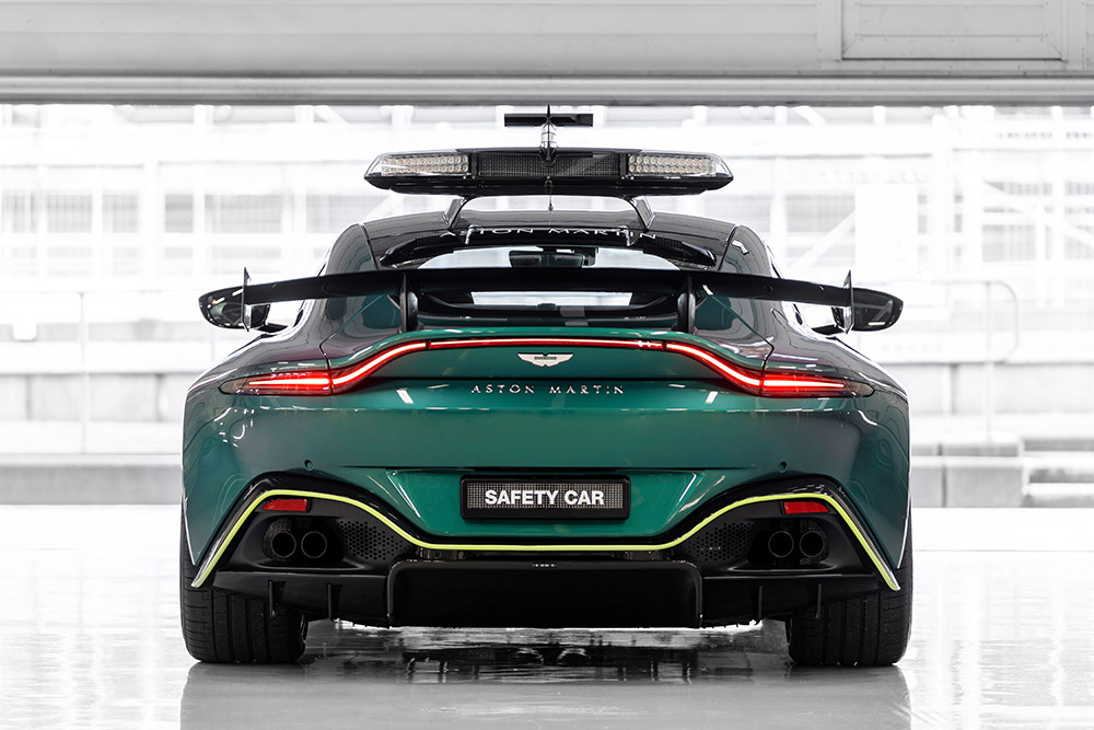 Aston Martin DBX and Vantage Official Formula 1 Safety Car