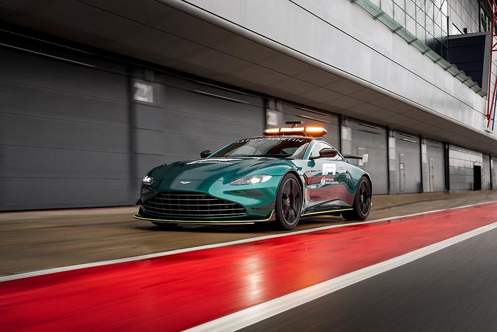 Aston Martin DBX and Vantage Official Formula 1 Safety Car