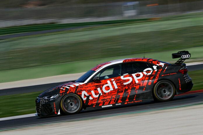 Audi RS 3 LMS Development