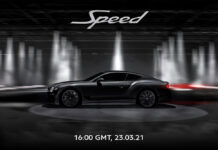 Bentley GT Speed to be Revealed March 23, 2021