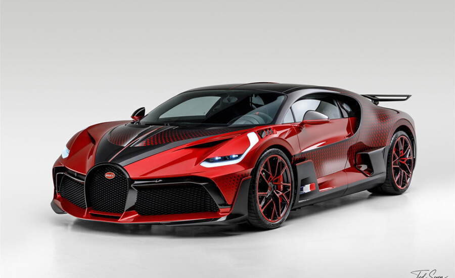 Bespoke Bugatti Divo Lady Bug