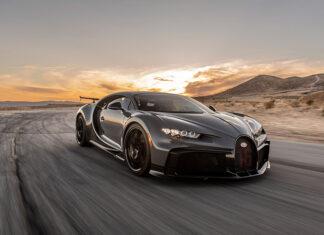 Bugatti Chiron Pur Sport Willow Springs Raceway California