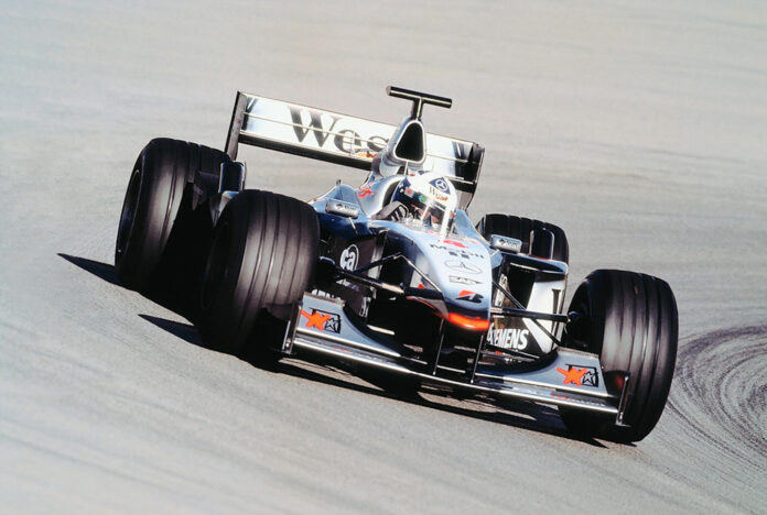David Coulthard Mercedes-Benz History