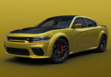 2021 Dodge Charger Scat Pack Widebody in Gold Rush