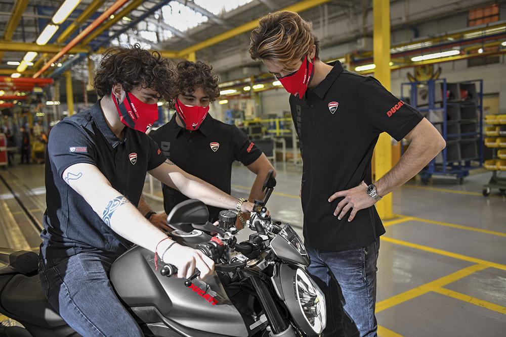 Ducati Monster Production Begins