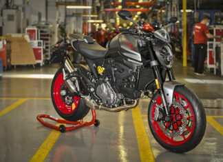 Ducati Monster Production Begins