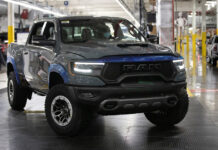 First 2021 Ram 1500 TRX Auctioned at Barrett-Jackson