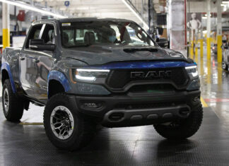First 2021 Ram 1500 TRX Auctioned at Barrett-Jackson