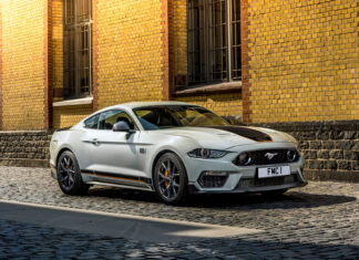 Track-Ready Ford Mustang Mach 1 to Land in the UK