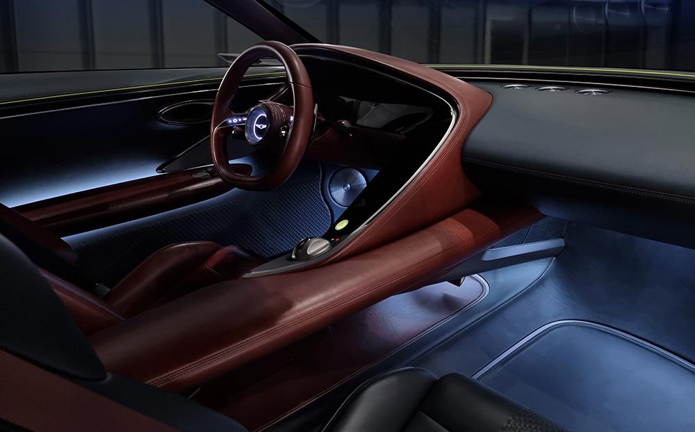 Genesis X EV GT Coupe Concept Car Revealed