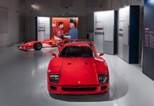 Gianni Agnelli Exhibit at the Ferrari Museum