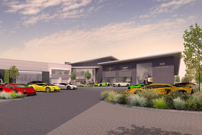 H.R. Owen Hertfordshire Lamborghini, Bentley and Maserati Site