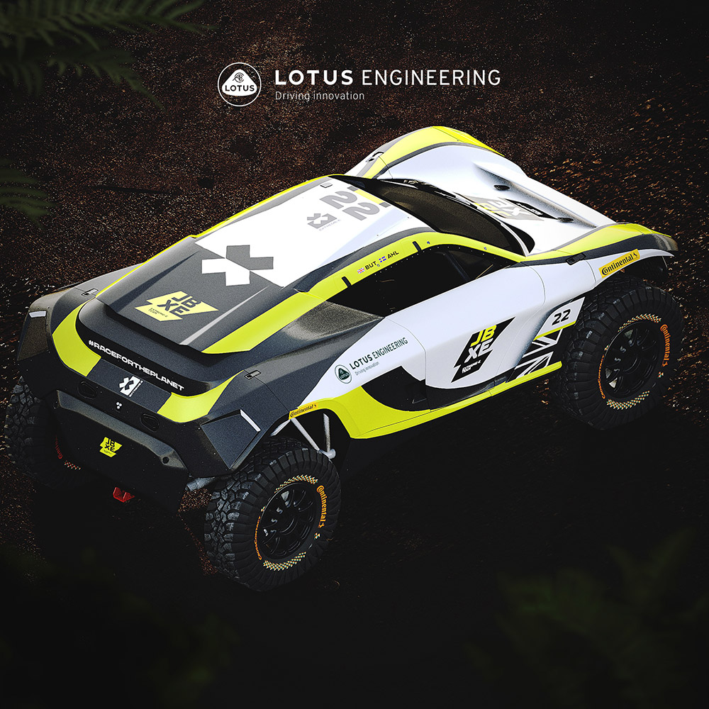 JBXE Racing Lotus Extreme E Partnership