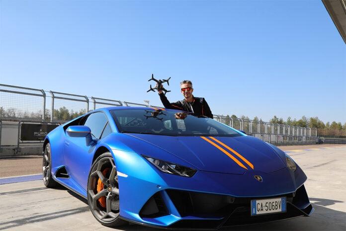 Lamborghini Huracan EVO vs. DJI drone