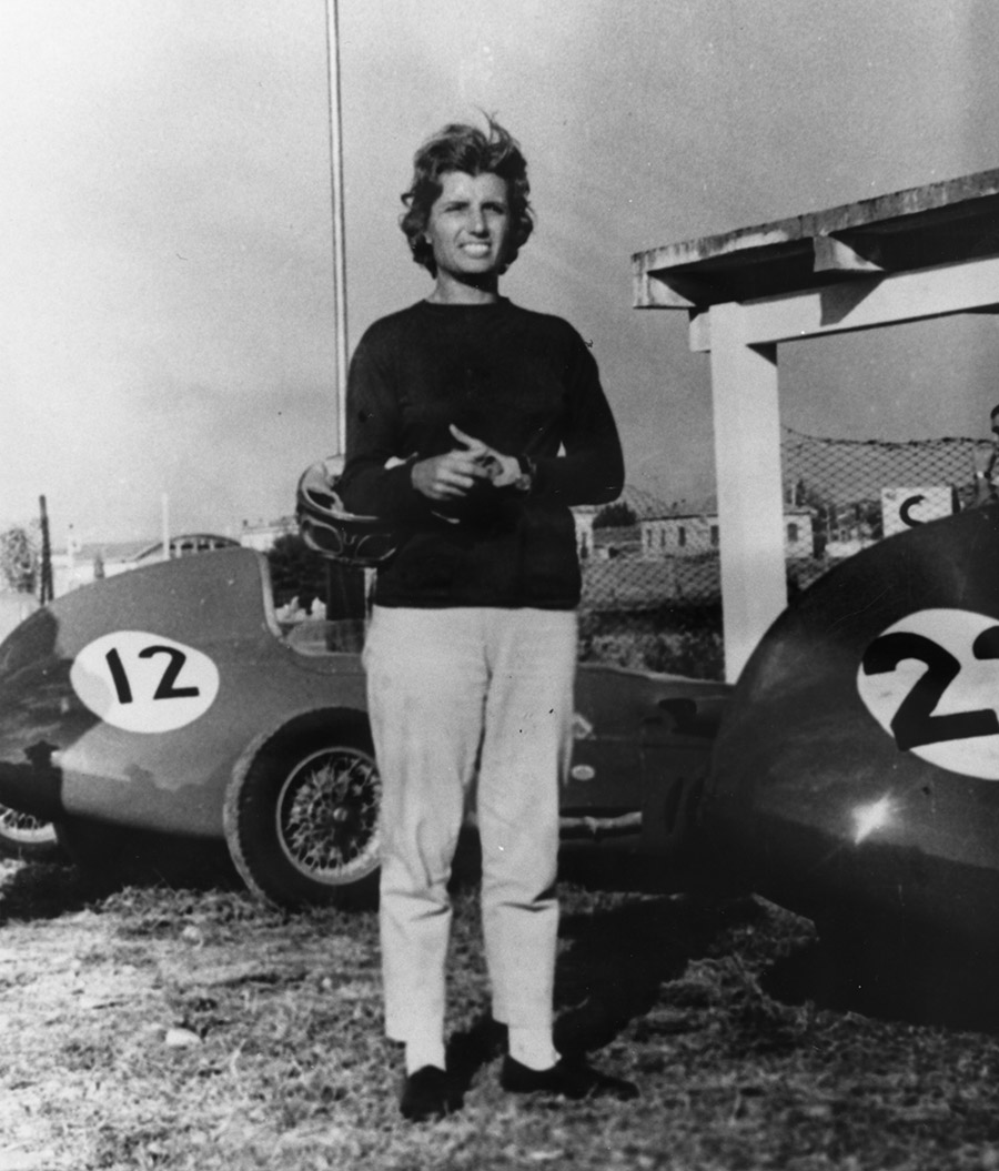 Maria Teresa de Filippis first female to qualify F1 Grand Prix Maserati