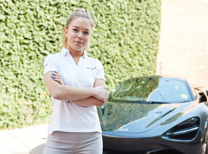 McLaren McLaren scientist Ella Podmore crowned Young Woman Engineer of the Year