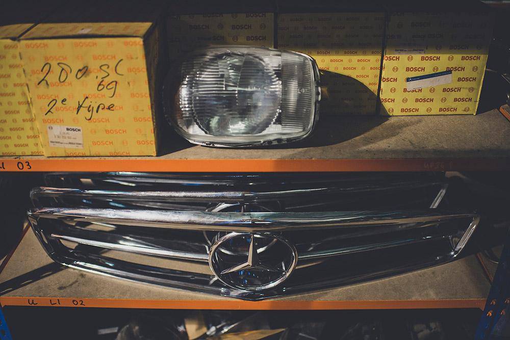 Rare Mercedes-Benz SL Parts Found SLSHOP