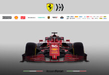 Scuderia Ferrari Mission Winnow SF21 F1 Race Car