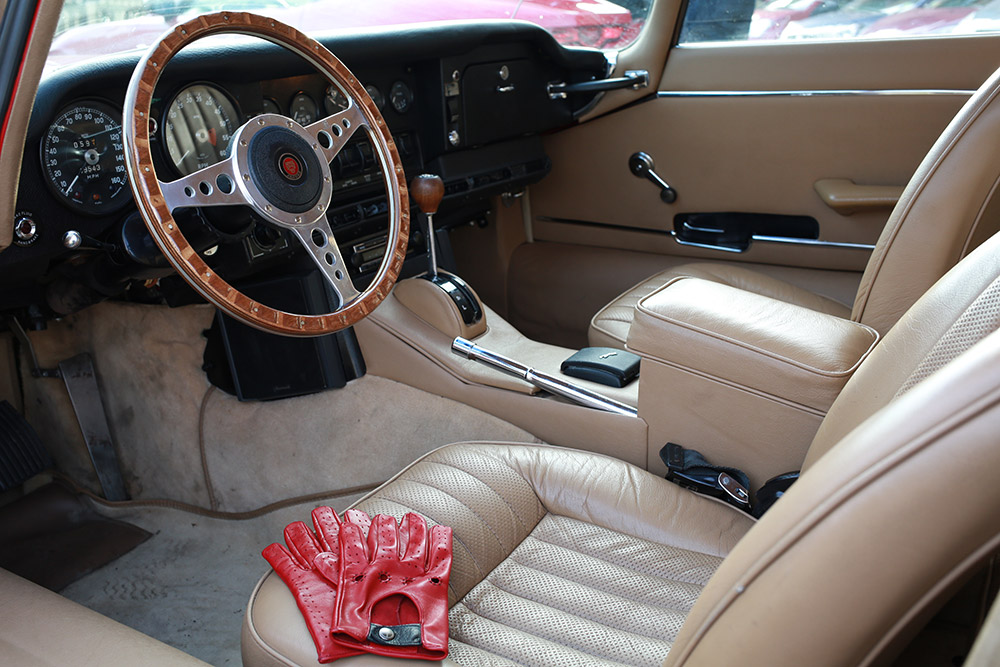 The Outlierman Jaguar E-Type Driving Accessories Collection