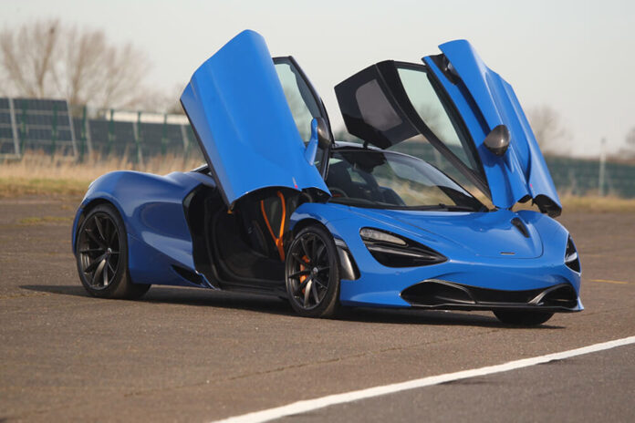 TrackDays Diamond Supercar Driving Experience Mothers Day Gift