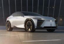 2021 Lexus LFZ Concept