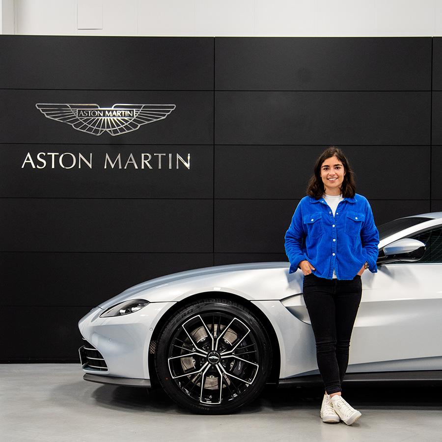 Aston Martin Cheltenham Hands Jamie Chadwick Keys to New Vantage