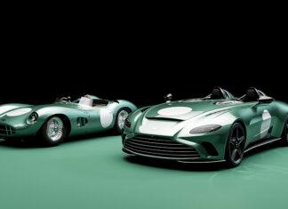 Aston Martin Speedster DBR1 Option