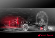 Audi lemans sports prototype largely completed