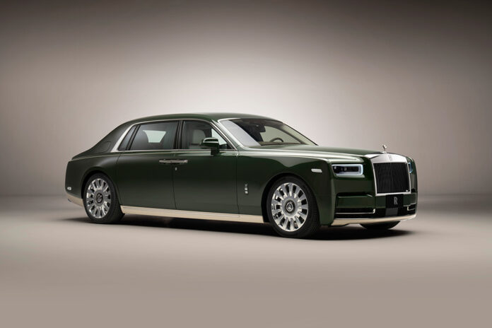 Bespoke Hermes Rolls-Royce Phantom Oribe