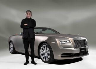 Rolls-Royce creates Bespoke Dawn in association with Kengo Kuma