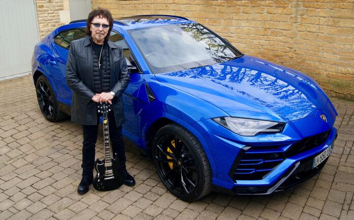 Black Sabbath guitarist Tony Iommi shares passion for Lmborghini sports cars