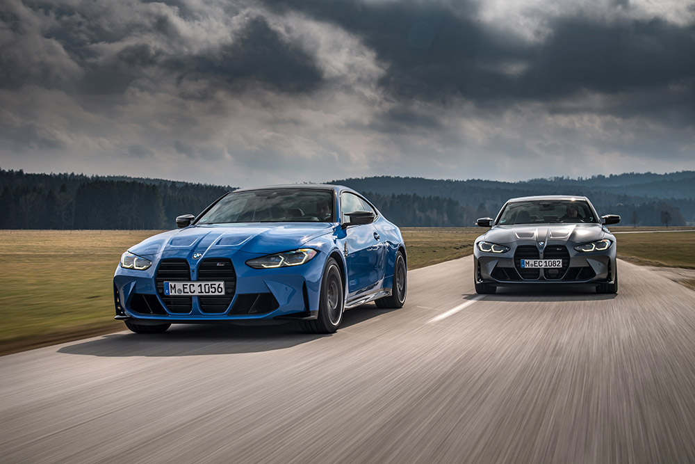 2022 BMW M3 Competition xDrive and M4 Competition xDrive