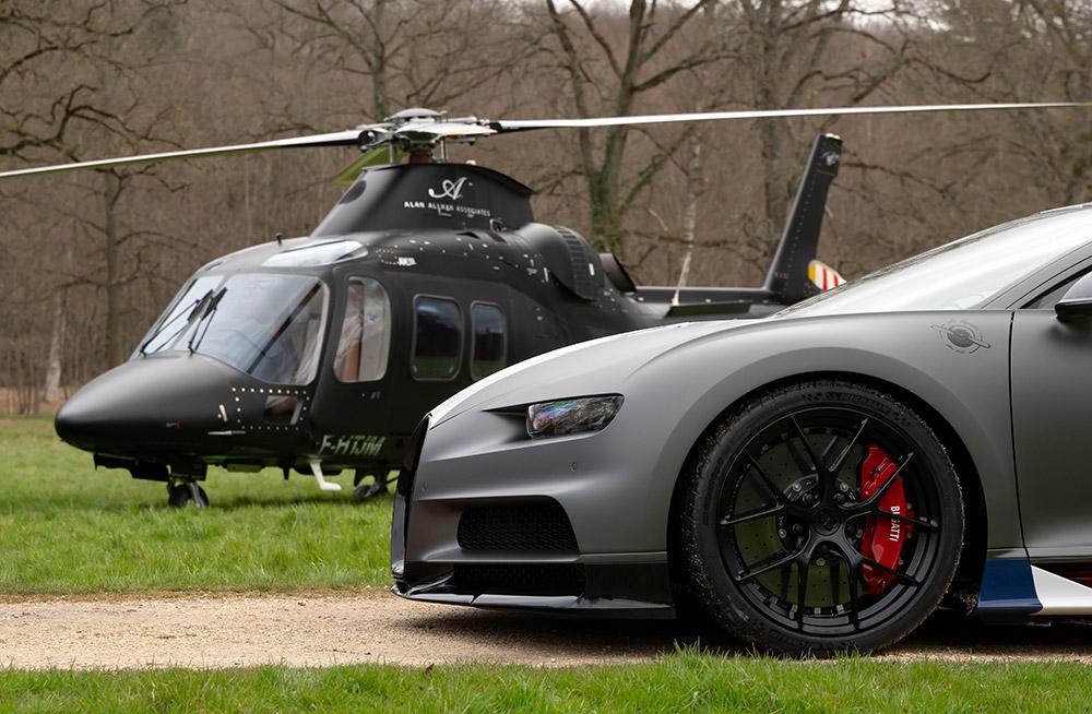 Bugatti Chiron paris Test Drive