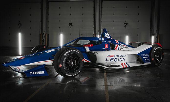 Chip Ganassi Racing reveals Indianapolis 500 American Legion paint scheme