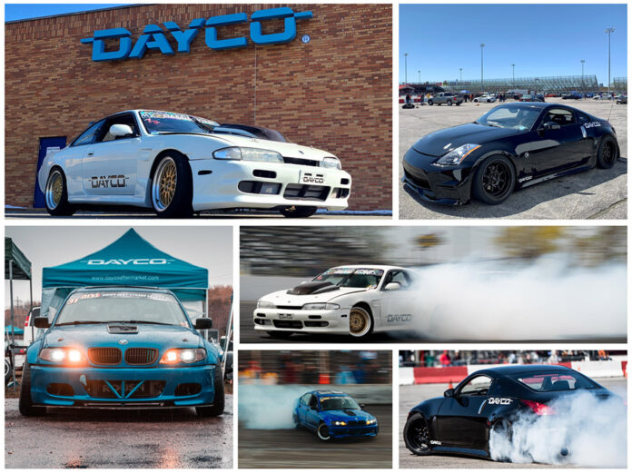 Dayco Drift Team Sponsorships