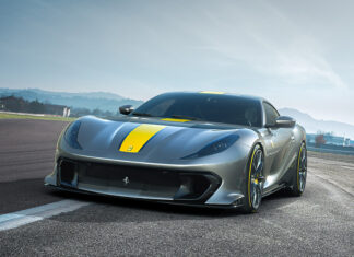 New Ferrari limited-edition V12 based on the 812 Superfast