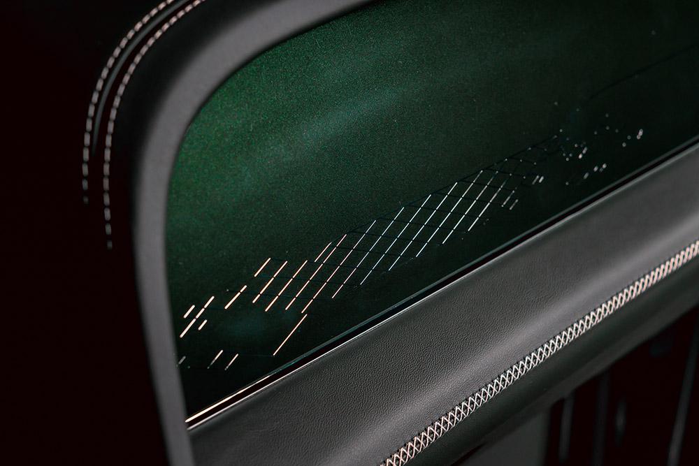Green Bespoke Bentley Bentayga Hybrid