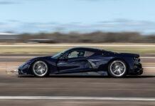 Hennessey Venom F5 - aerodynamic testing